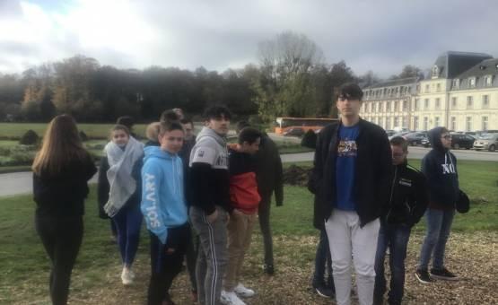 Découverte des formations du Château des Vaux