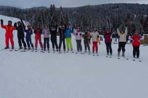 Les BTSA font du ski