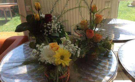 Les CAPa2 SAPVER s'initient à l'art floral