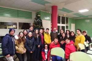 Une délégation portugaise au lycée