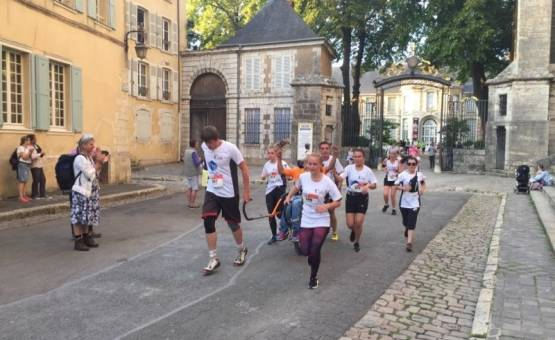 Un beau défi pour une course solidaire