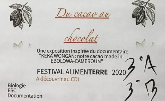 Un Festival Alimenterre aux notes chocolatées!