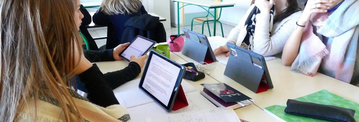La pédagogie numérique Une tablette pour chaque élève